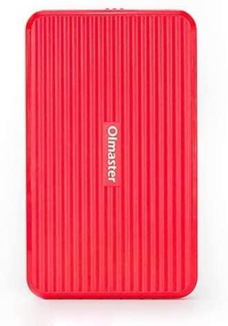 SZZME JZJ ATT OImaster EB-2506U3 SATA USB 3.0 Interface HDD Enclosure for Laptops, Support Thickness: 7.0-12.5mm (Black) (Color : Red)