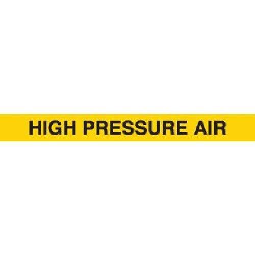 Harris Industries, Inc. SP-77 Hi-Pressure Air Pipe Marker Tape, 3in and Down