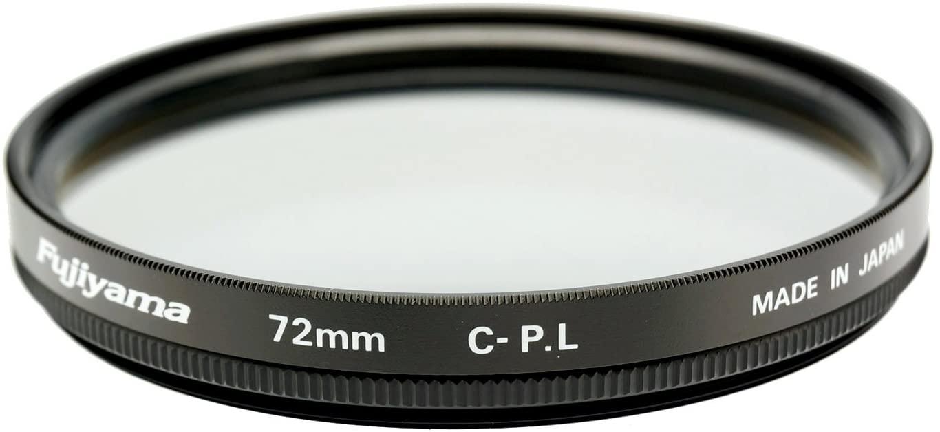 Fujiyama 72mm Circular Polarizing Filter for Olympus M.Zuiko Digital ED 40-150mm F2.8 Pro Made in Japan