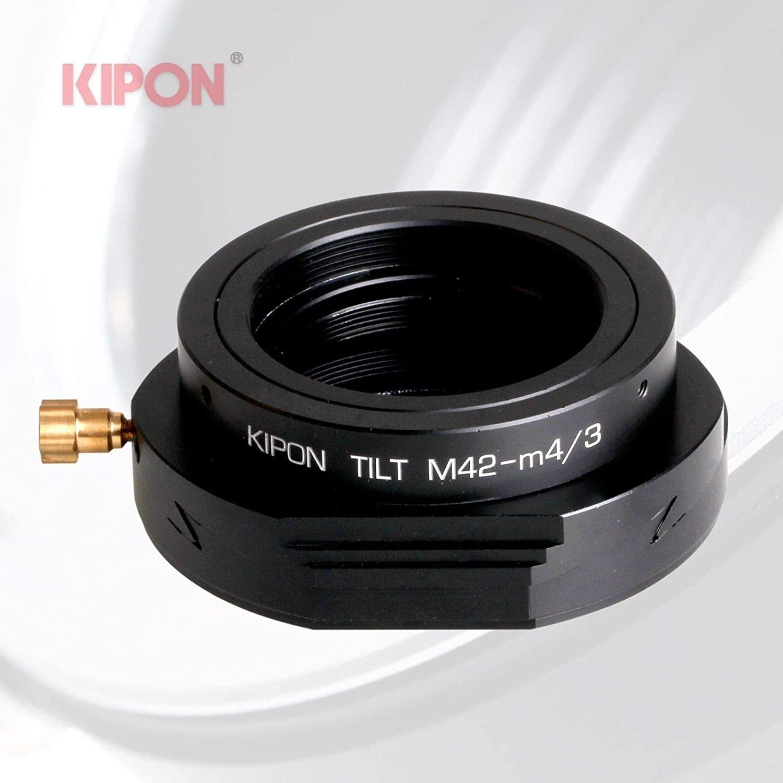 New Versio Kipon Tilt Adapter for M42 Lens to Micro Four Thirds M4/3 MFT Camera