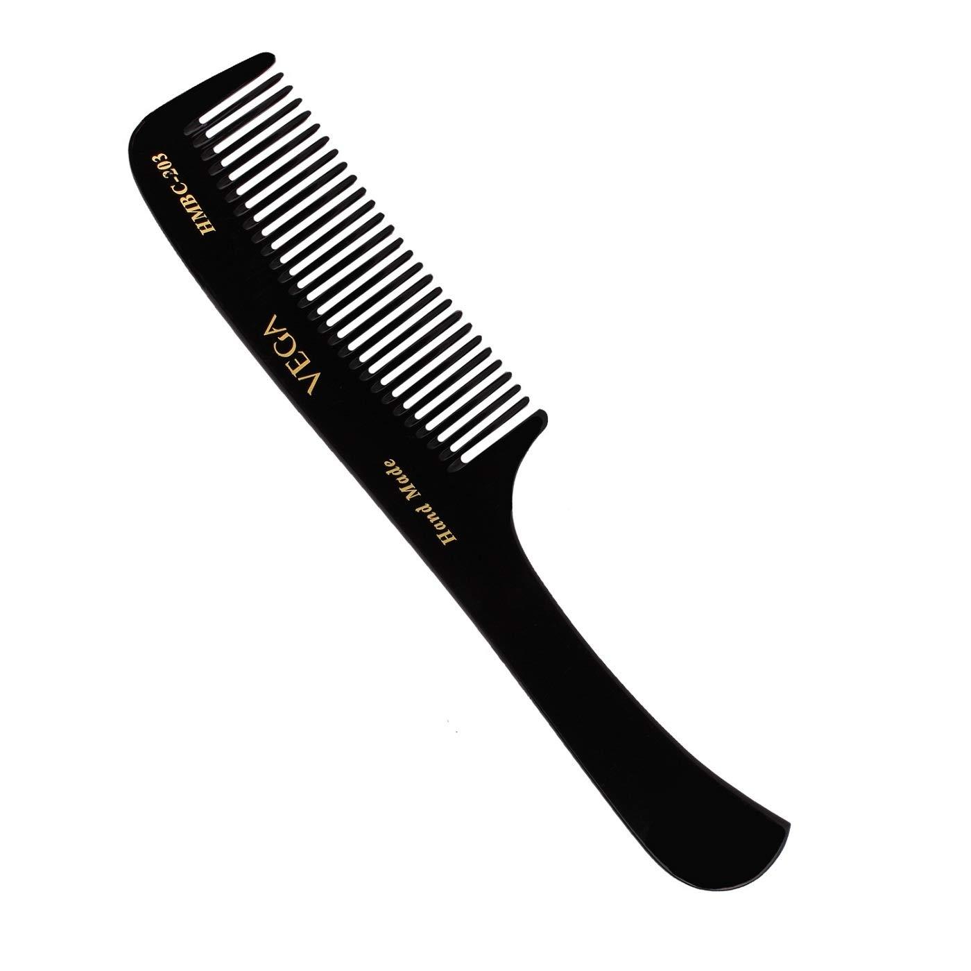 Vega Handmade Black Comb - Grooming HMBC-203 1 Pcs by Vega Product