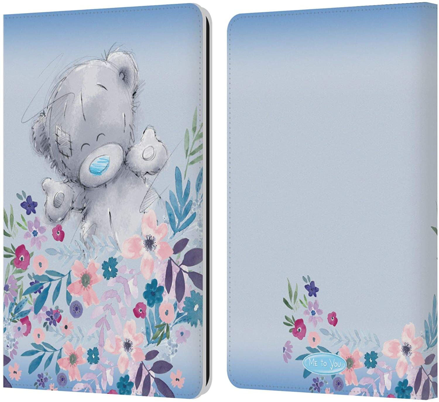 Head Case Designs Officially Licensed Me to You for You Soft Focus Leather Book Wallet Case Cover Compatible with Kindle Paperwhite 1/2 / 3
