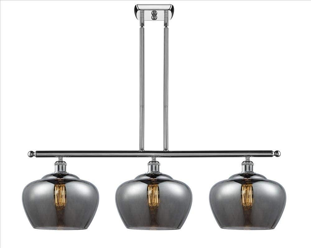 Innovations 516-3I-BK-G96-L-LED 3 Island Light Vintage Dimmable LED, Matte Black