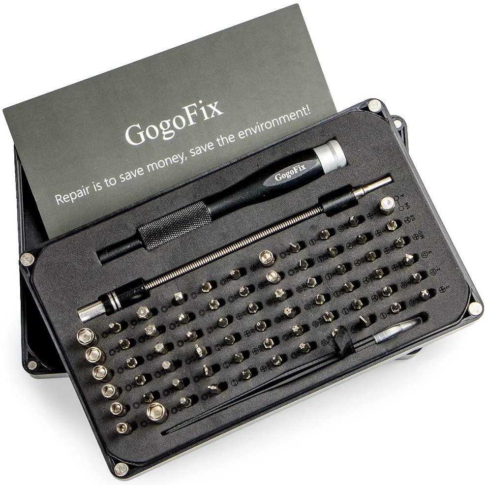 GogoFix Precision 66-Bits Repair Tool Compatible with Electronics, Computer, MacBook, iPad, iPhone, Xbox, Playstation, Camera.Repairing (66 Bits)