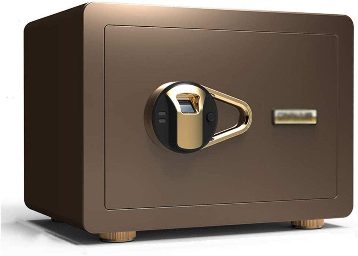 Safes Safes Electronic Home With Medium Home Small Office Fingerprint Password Security Cabinet 35 25 25Cm Safes