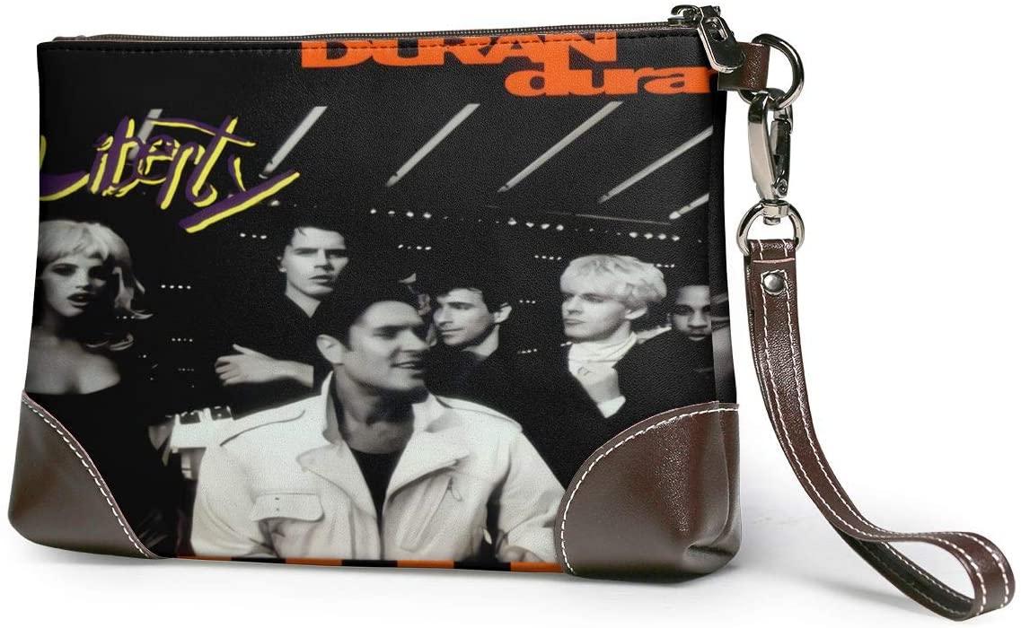 MAJJAKJH Duran Duran Liberty Music Band Purses Clutch Phone Leather Small Wristlet Purses Handbag