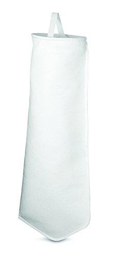 Rosedale Products PO-1-P2S Polypropylene Felt Filter Bag, 1 μ, White (Pack of 50)