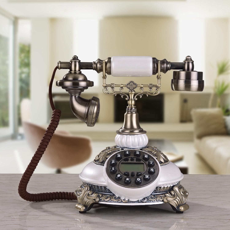 TY Retro European-style living room / bedroom / office dedicated corded telephone / creative high-end landline phone , a