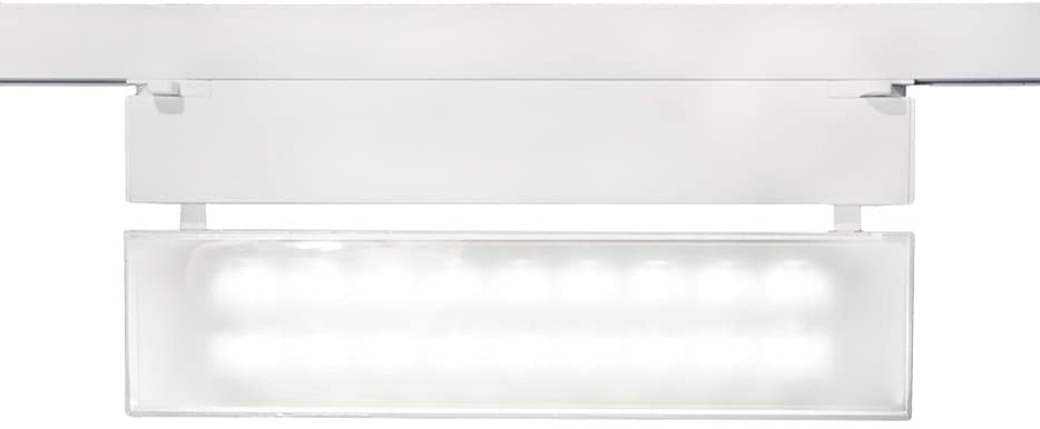 WAC Lighting WHK-LED42W-35-BK 43W LED Wall Washer Track Head for 277V W Track, 3500K