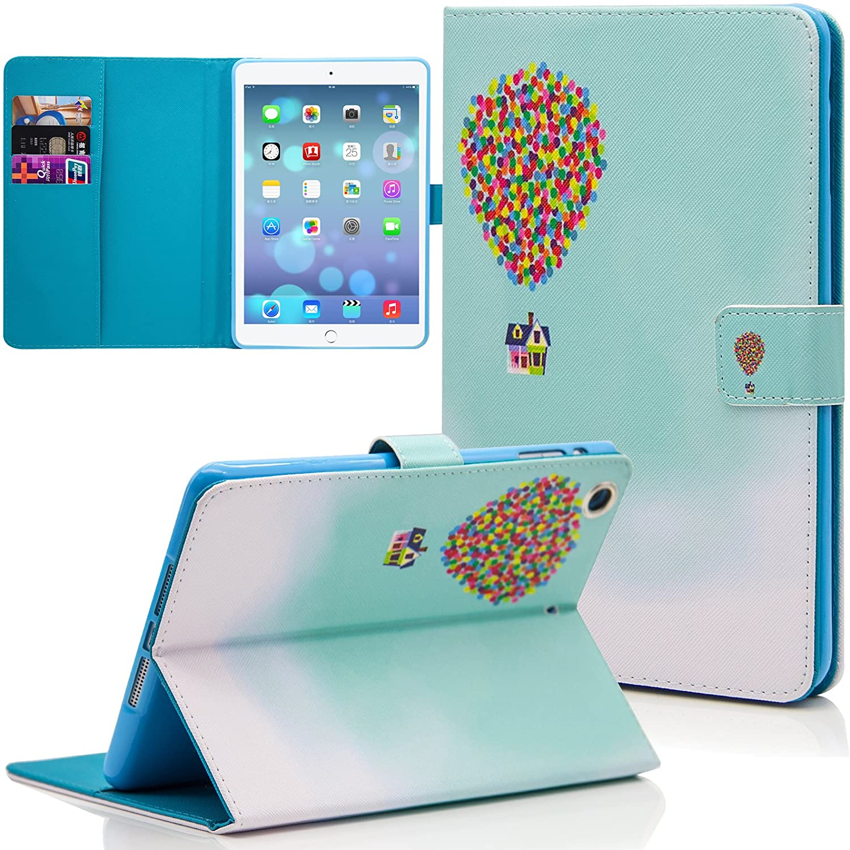 iPad Mini Case, Mini 2 & 3 Case, Dteck Slim Fit Lightweight Flip Folio Stand Leather Case with Auto Wake/Sleep Feature Magnetic Smart Cover for Apple iPad Mini 3/2/ 1