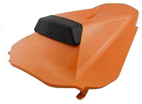QYA Practical Motorbike Accessories Motorcycle Rear Pillion Passenger Seat Cover Solo Fairing Cowl for KTM Duke790 Duke 790 L 790L 2018 2019 2020 P/N 64107955044, Sturdy Material