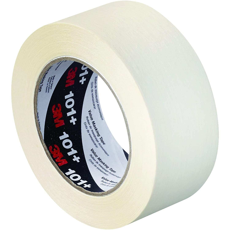 3M 101+ Masking Tape, 5.1 Mil, 2
