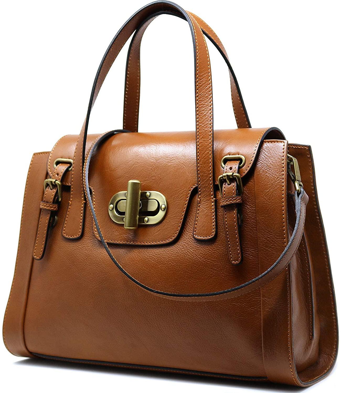 Floto Tavani Women's Handbag Leather Bag