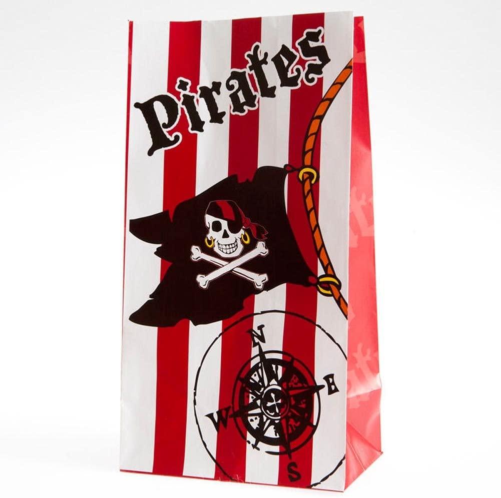 Paper Pirate Loot Bags