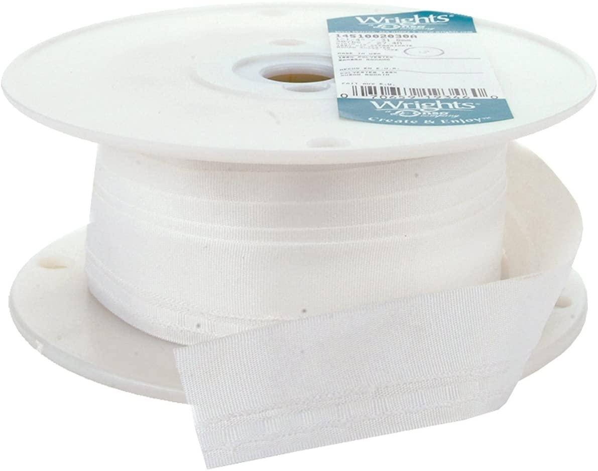 Wrights 2030A Roman Shade Tube Tape, 30-Yard,