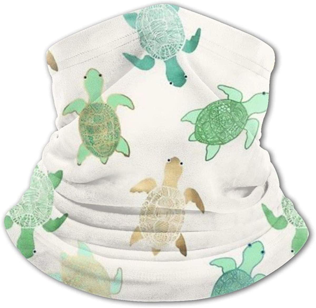 Sea Turtles Headwear For Girls And Boys, Head Wrap, Neck Gaiter, Headband, Tenn Fishing Mask, Magic Scarf, Tube Mask, Face Bandana Mask For Camping Running Cycling