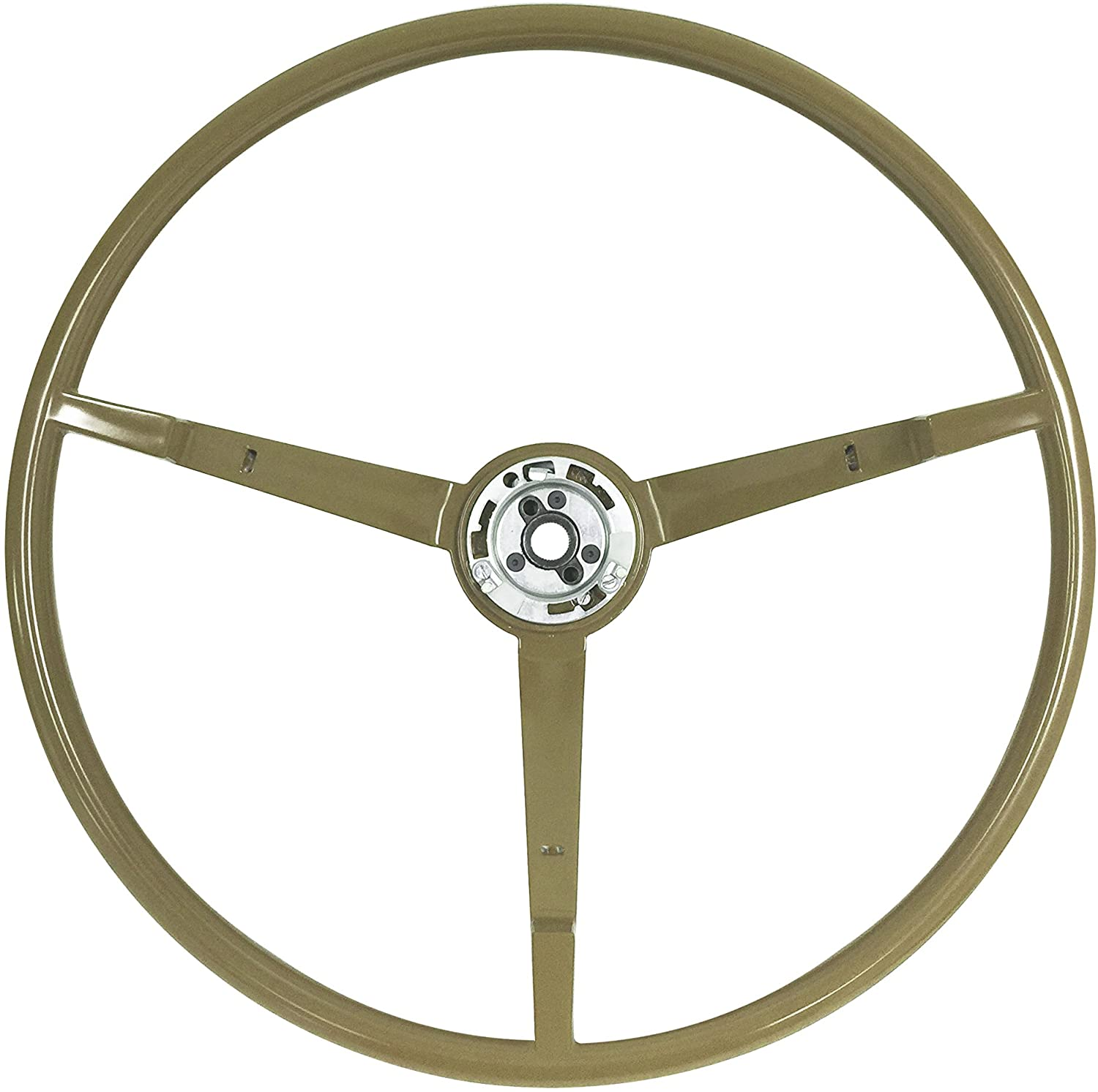 Volante OE Style Reproduction Ivy Gold Steering Wheel compatible with 1965-66 Ford Mustang