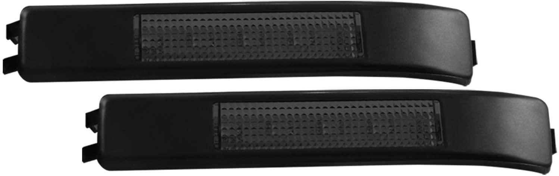 AnzoUSA 861114 Mirror with Turn Signal, Smoke