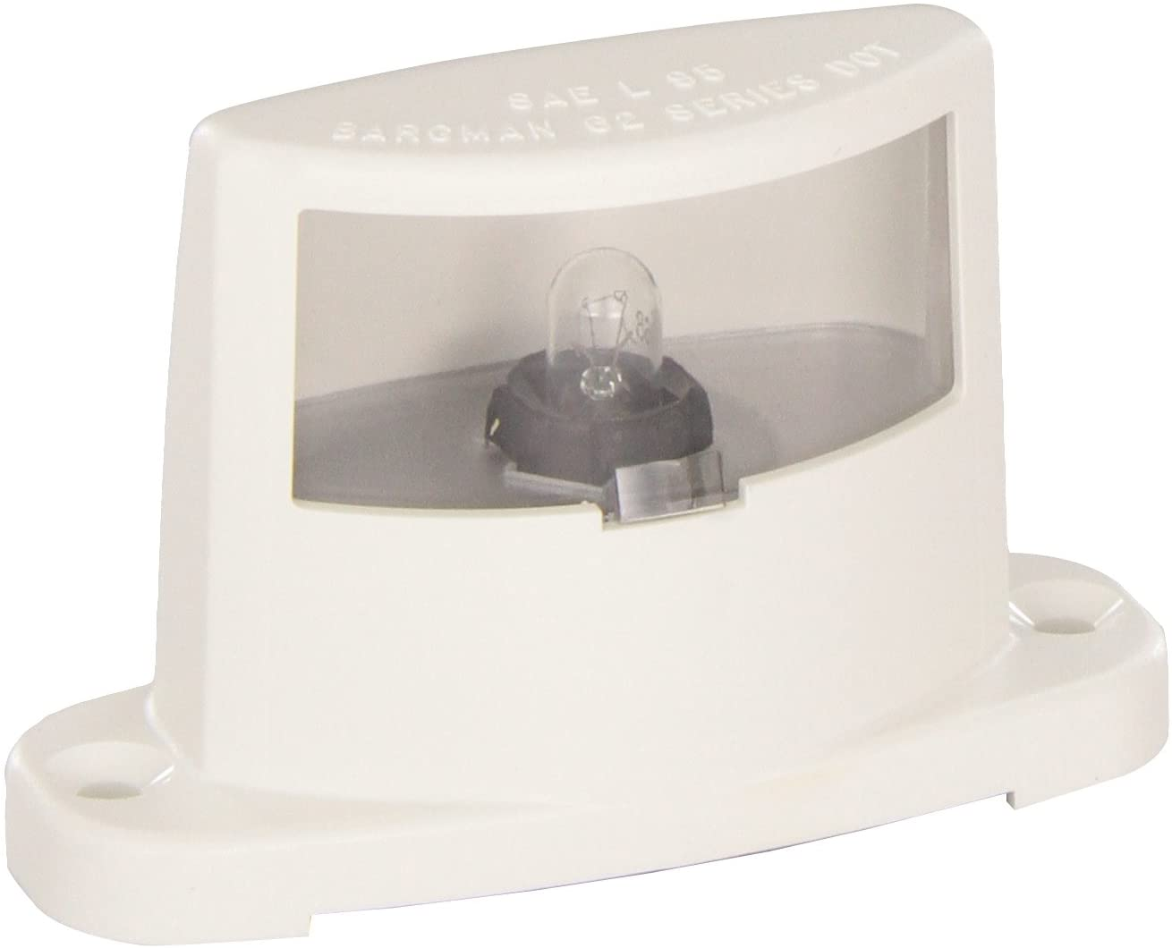 Bargman 30-62-103 License Light with White Base