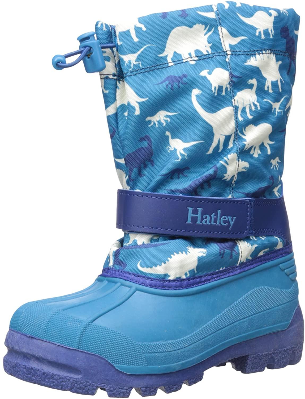 Hatley Boys' Silhouette Dinos Winter Boots