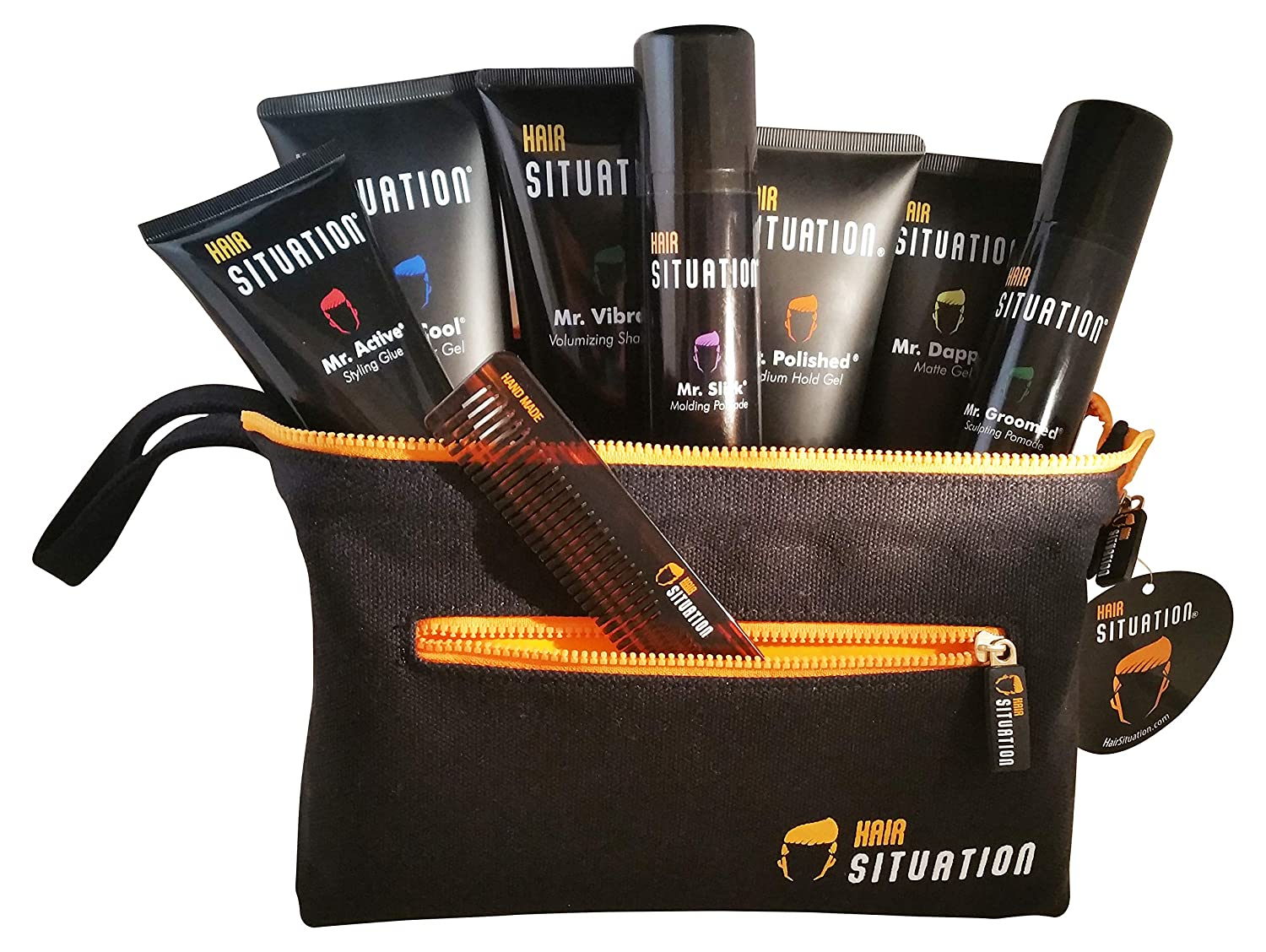 Hair Situation Grooming Set Gels, Pomade, Shampoo