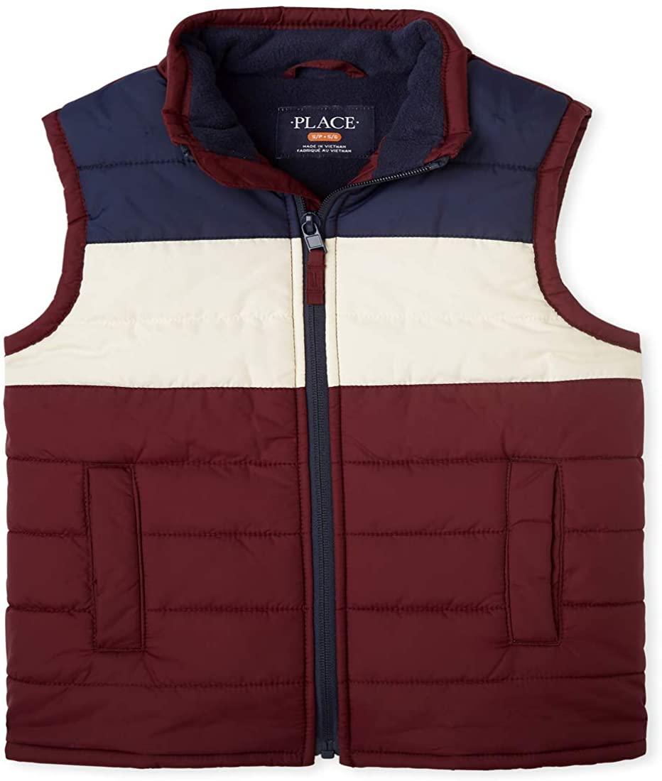 The Children's Place Big Boys' Puffer Vest