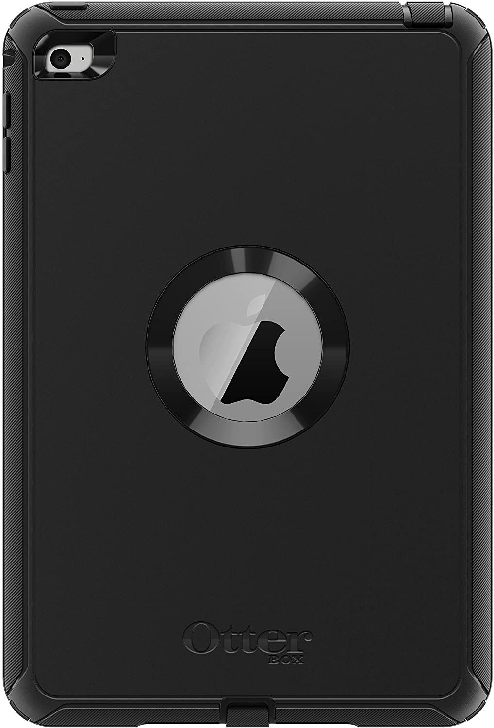 OtterBox DEFENDER SERIES Case for iPad Mini 4 (ONLY) - Retail Packaging - BLACK (Renewed)