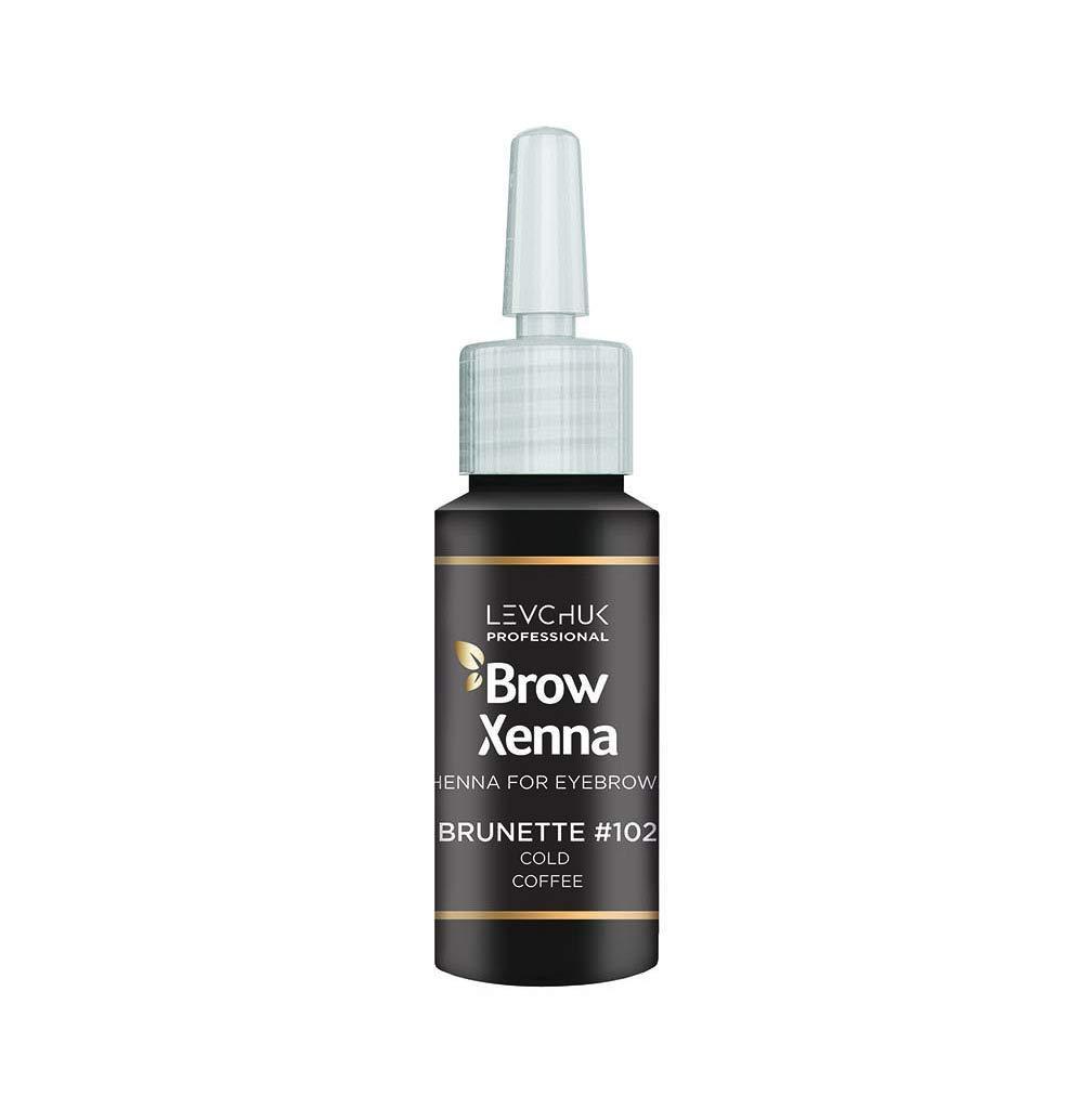 Henna For Eyebrows Profesional Cold Coffee, BrowXenna #102, Vial