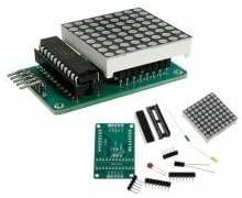 MAX7219 Dot Matrix Module DIY Kit SCM Control Module For Arduino