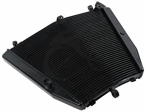 Motorcycle Aluminum Black Radiator Cooler For Honda CBR1000RR CBR 1000RR 06-07