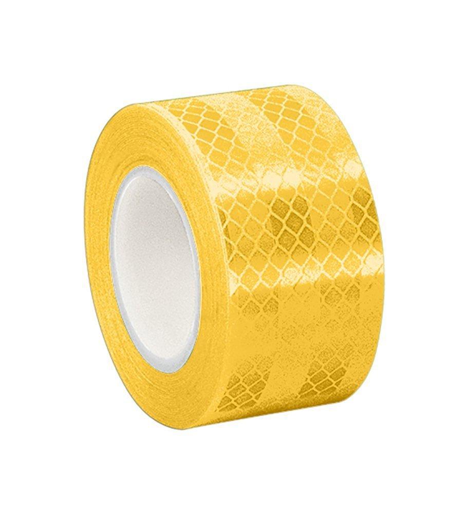 3M 3431 Yellow Micro Prismatic Sheeting Reflective Tape, 2