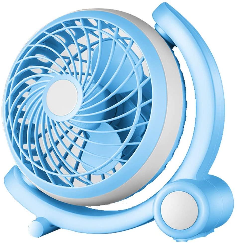 HLL Fan,8 inch Mini Desktop Portable Ultra-Quiet Cooling