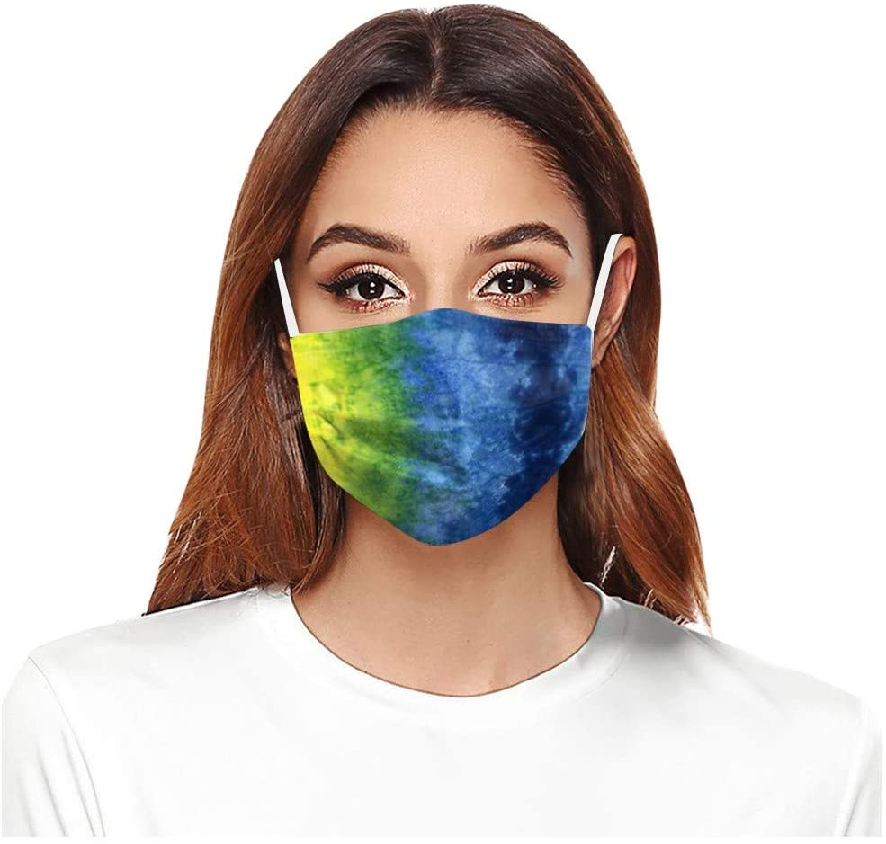 10 PC Mask Face Cover,Neck Gaiter,Mouth Covers,Sports Bandanas,Riding Cover Print Face Mask Reusable Washable Cloth for Kids Cover Reusable Dustproof