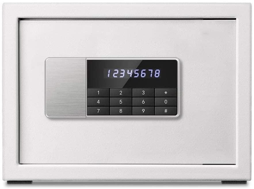 JBAMQ Security Safe Box, Digital Safes Keypad Deposit Lock Safe Home Office Safe for Document Money Jewelry
