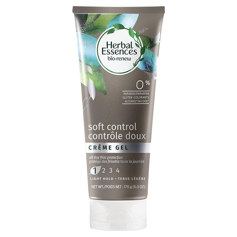 Herbal Essences Bio-Renew Soft Control Crème Hair Gel, 6.0 Fl Oz