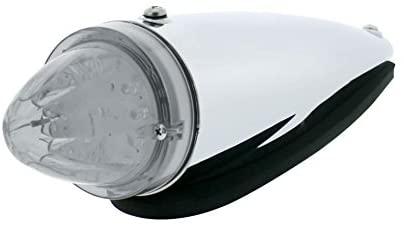 13 LED Watermelon Truck-Lite Style Cab Light Kit - Amber LED/Clear Lens