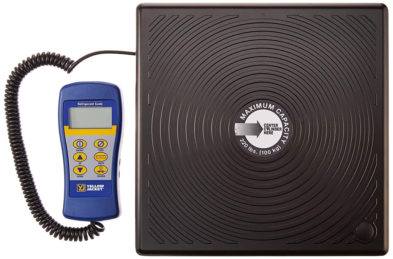 Yellow Jacket 68810 Metric Electronic Scale 100 kg