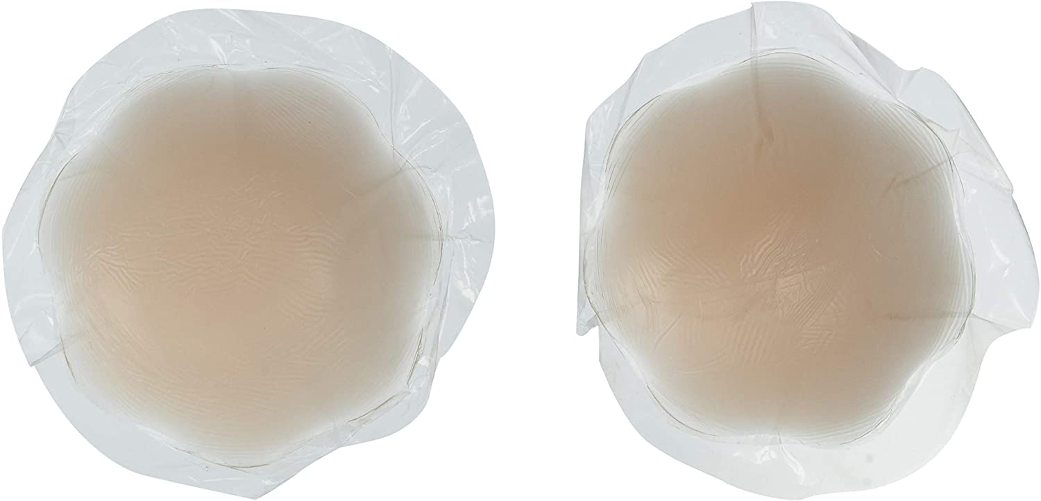 The Natural Women's Plus Size Silicone Nipple Covers-Full Coverage, Nude, o/s