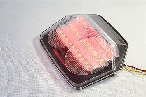 Motorcycle LED Tail Light Brake Turn Signals For Honda CB1300 2003 CB400 V-TEC 2003-2008 CLEAR