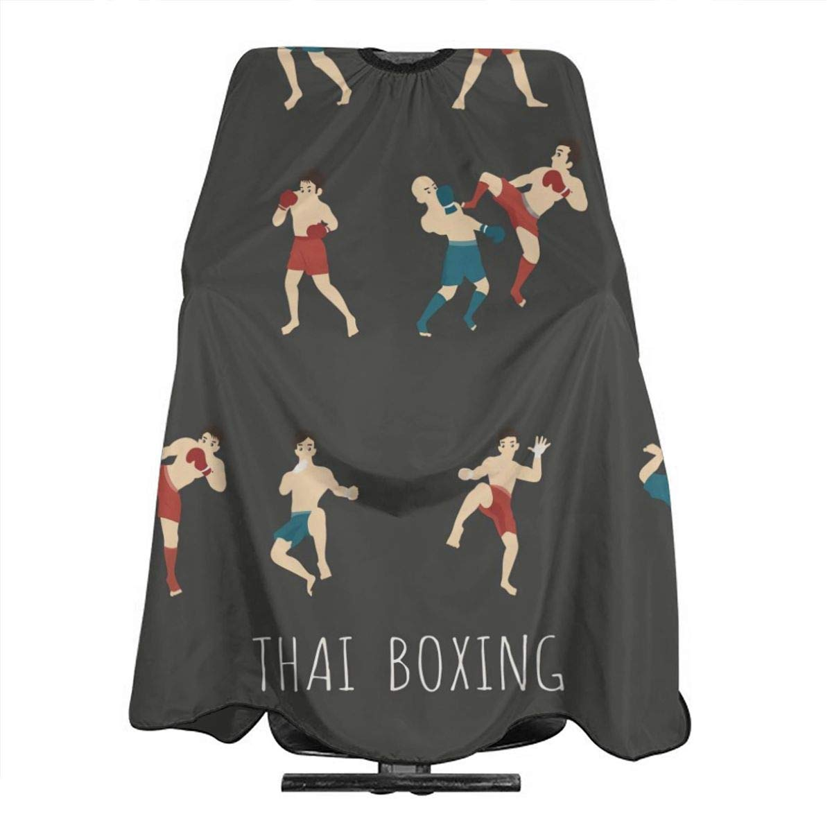 Professional Barber Cape Salon Hair Styling Cutting Haircut Aprons Thai Boxing Martial?arts Capes For Proof Hairdresser Coloring Perming Shampoo Chemical 55