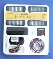 Able-2 Products Sho-Me Micro-Lite LED 4-Light Kit - Red