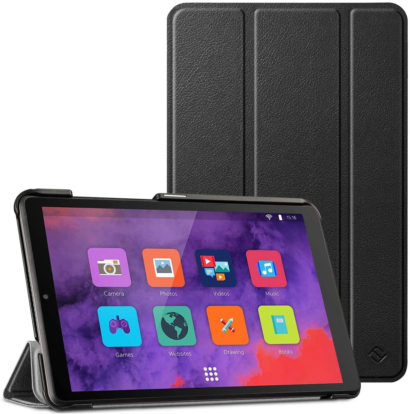 Fintie Case for Lenovo Tab M8 / Smart Tab M8 / Tab M8 FHD - Lightweight Slim Shell Stand Cover for Lenovo Tab M8-HD TB-8505F/TB-8505X 2019 8.0 Inch Tablet, Black