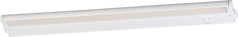 Maxim 89895WT CounterMax MX-L-120-3K Energy Star JA8 Compliant Under Cabinet LED Light, 1-Light 12 Watt, 24