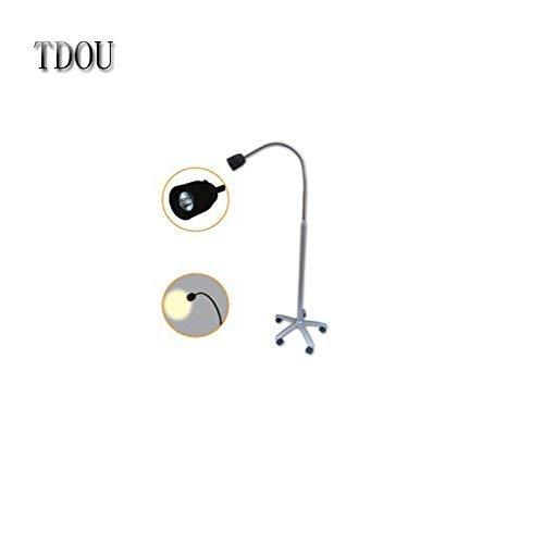 New Portable Dental Floor-Halogen Examination Lamp JD1500 Drive Medical Goose Neck Exam Lamp Power 24V35W 110V or 220V