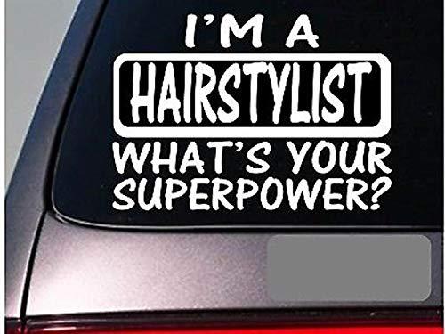 CELYCASY I'm A Hairstylist Sticker DecalE123 Stylist Hairdresser Barber Hair Salon