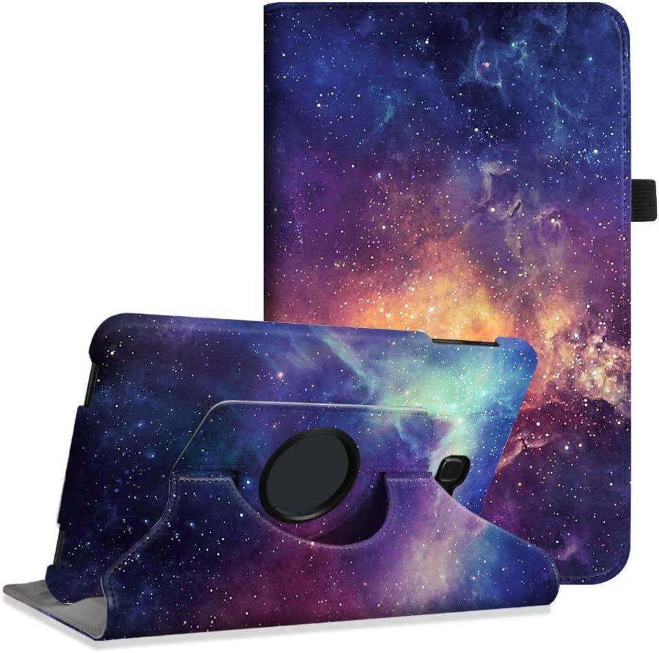 Fintie Rotating Case for Samsung Galaxy Tab A 10.1 (2016 NO S Pen Version) - Premium PU Leather 360 Degree Swivel Stand Cover Auto Sleep/Wake for Galaxy Tab A 10.1 (SM-T580/T585/T587), Galaxy