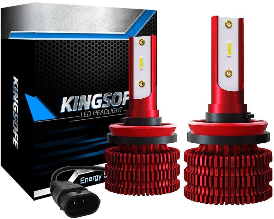Alician K5 6500K 9005/HB3/H10 9006/HB4 H1 H4 H7 H8/H9/H11 Car Headlight Bulb 72W 8000LM Car LED Headlamp red H8/H9/H11 Automotive Lamps