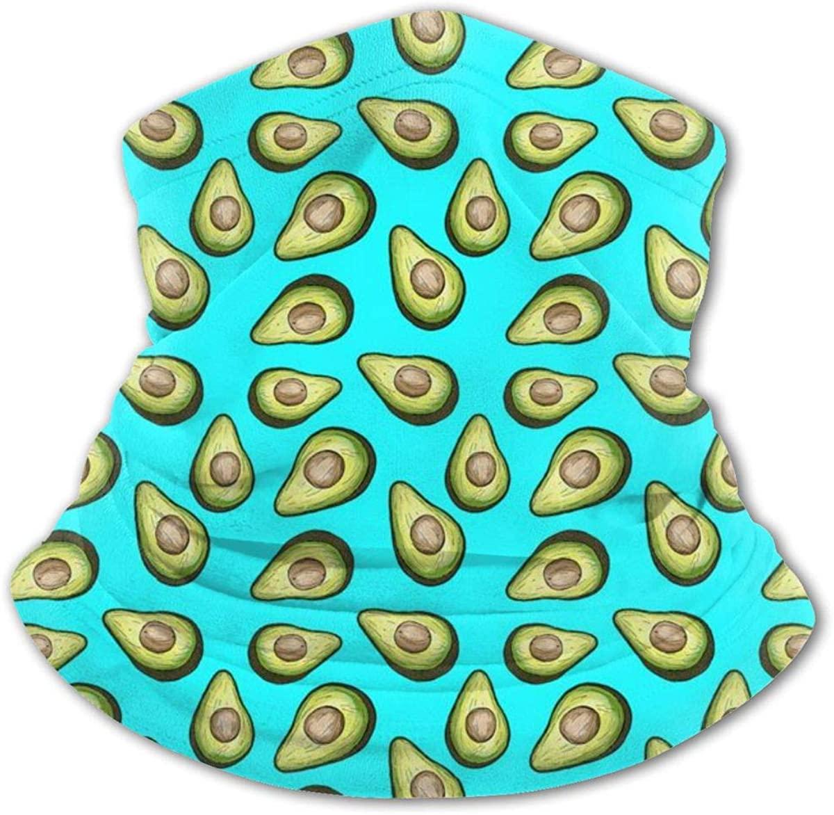 Fresh Tropical Fruit Avocado Headwear For Girls And Boys, Head Wrap, Neck Gaiter, Headband, Tenn Fishing Mask, Magic Scarf, Tube Mask, Face Bandana Mask For Camping Running Cycling