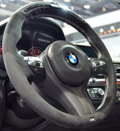 EuroActive BMW OEM F30 F31 F32 F34 M Performance Alcantara & Carbon Fiber Steering Wheel