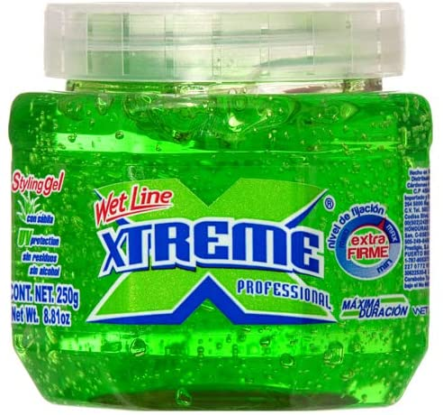 325911 Wholesale XTREME HAIR GEL SMALL GREEN 8.8Z